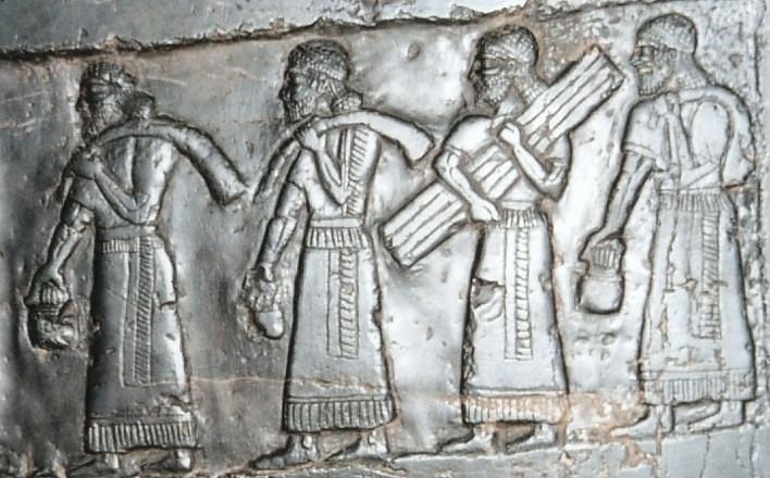 ancient 3Black_Obelisk-Israelites-bringing-tribute